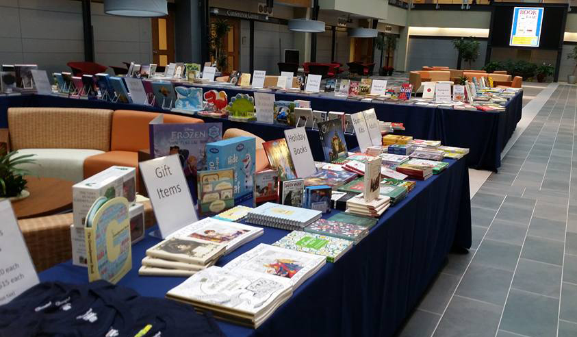 Book fair at Biotech Place