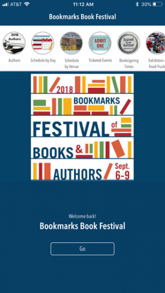 Festival App   Bookmarks