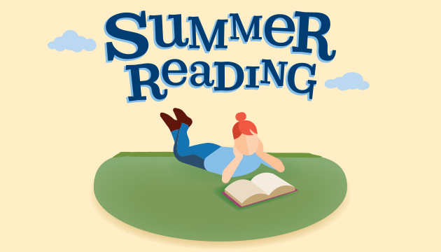 Girl reading - summer reading