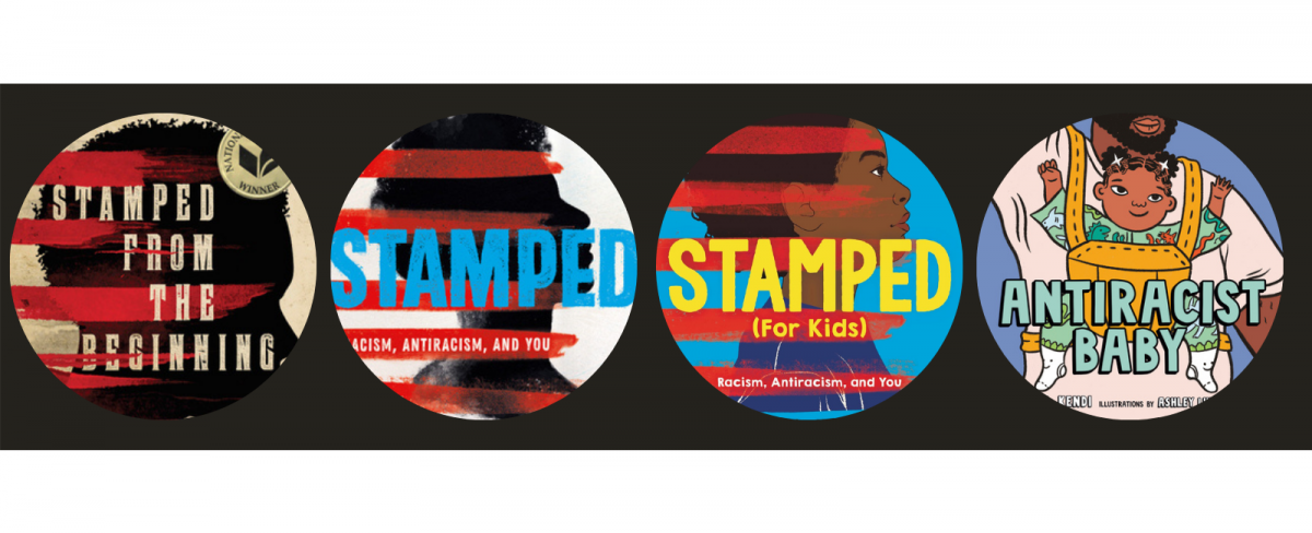 stamped book titles