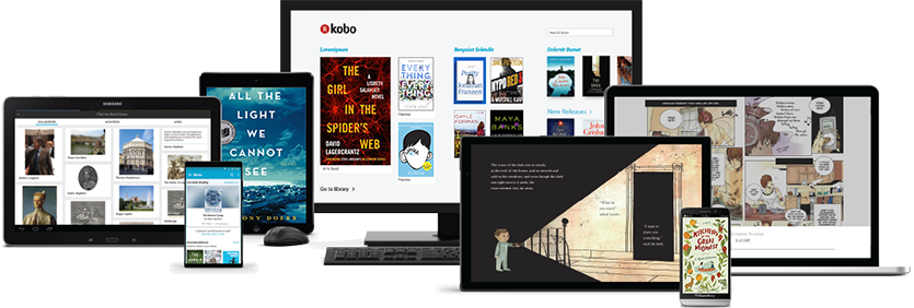 Read eBooks and magazines on your smartphone,                 tablet or desktop