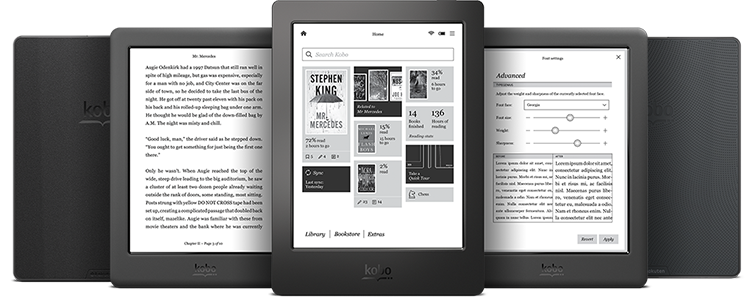 Award-winning eReaders